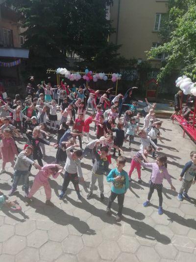 Спортен празник на двора - ДГ №19 Света София, Лозенец