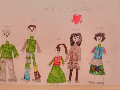 Моите родители и аз нарисувахме заедно - ДГ №19 Света София, Лозенец