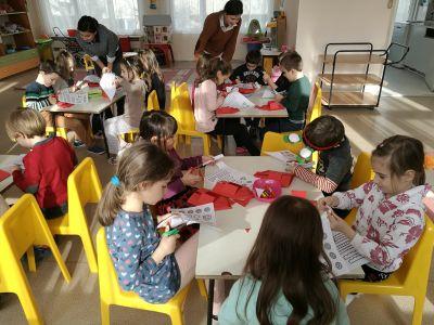 "Коледна работилница в група ""Смехорани"" - ДГ №19 Света София, Лозенец"