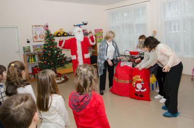 Дядо Коледа в детската градина - ДГ №19 Света София, Лозенец