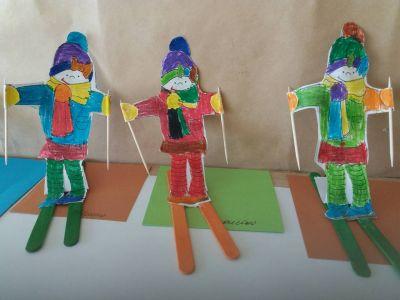"""Група """"Пинокио"""": Ех,че време! Ех, че сняг! Хайде, палавници малки, направете си пързалки!"""" - ДГ №19 Света София, Лозенец"""