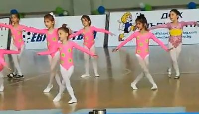 Представяне на отбора по художествена гимнастика - ДГ №19 Света София, Лозенец