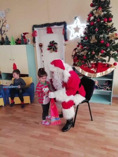 Дядо Коледа в детската градина 2019 - ДГ №19 Света София, Лозенец
