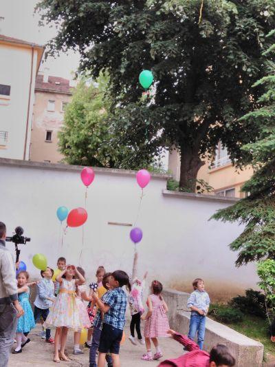 """Група """"Пинокио"""": Ритуал за  изпращане на децата в първи клас.Бал. - ДГ №19 Света София, Лозенец"""
